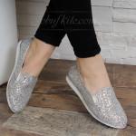 Обувки 16-1604 Т912 Silver