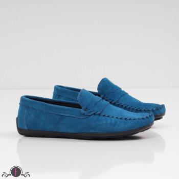 МЪЖКИ МОКАСИНИ  - 09071908 BLUE