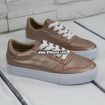 Обувки 17-1002 LK-2 Gold-Pink