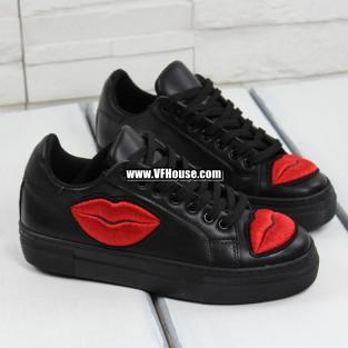 Обувки 17-2802 05 Black