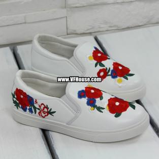 Дамски обувки 17-0303 5198 White