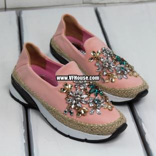 Дамски маратонки 17-0703 03 Pink