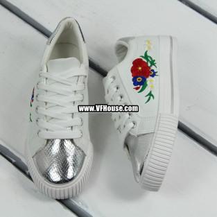 Дамски обувки 17-0903 61021 White