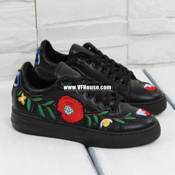 Обувки 17-2802 04 Black-PU