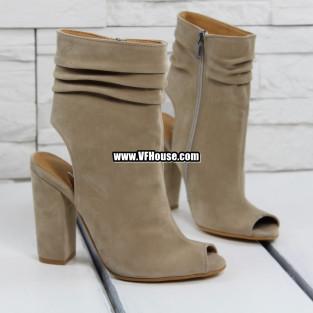 Дамски сандали 17-1603 05 Beige