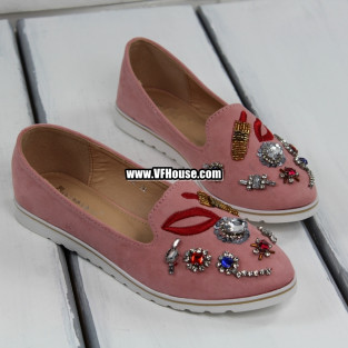 Дамски обувки 17-1803 01 Pink