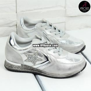 Дамски обувки 17-0308 1217-63 Silver