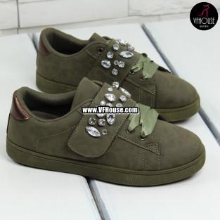 Дамски обувки 17-2208 32 Green