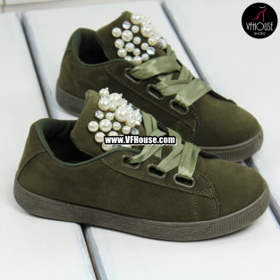 Дамски обувки 17-2208 33 Green