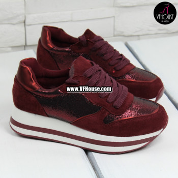 Дамски обувки 17-2208 40 Red
