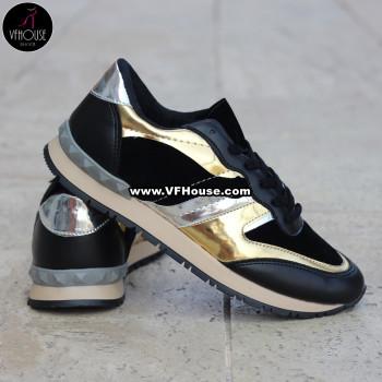 Обувки 16-MV1903 07 Black/Gold