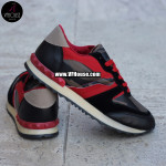 Дамски маратонки 16-MS2502 02 Black/Red