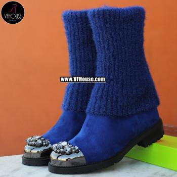 Боти 1909-9611749 Blue