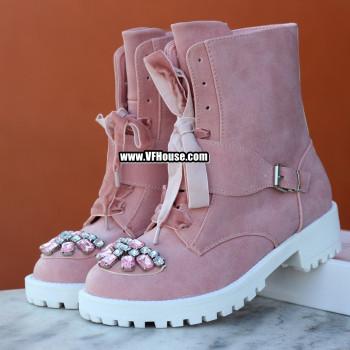 Дамски боти 17-1809 01 Pink