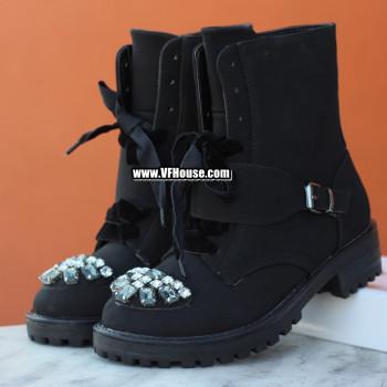 Дамски боти 17-1809 01 Black