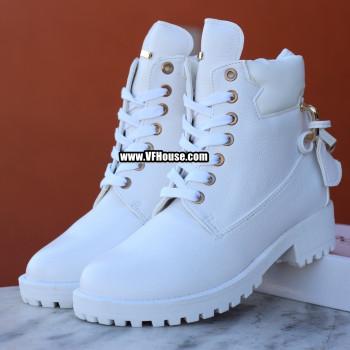 Дамски боти 17-1809 02 White