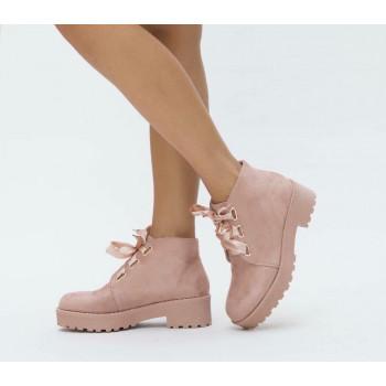 Дамски боти 17-1609 02 Pink
