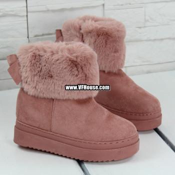 Дамски боти 17-1710 01 Pink