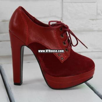 Дамски боти 17-3110 11 Red