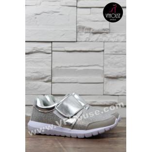 Маратонки 1605-22 Silver