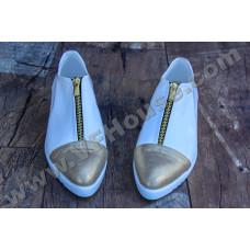 Обувки 2502-0001 White/Gold