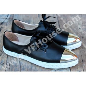 Обувки 15-0704 04 Black