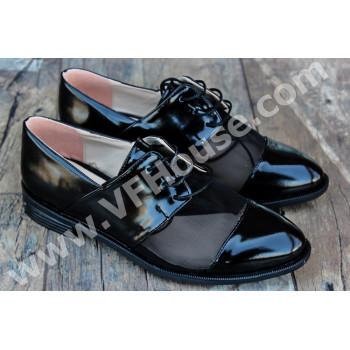 Обувки 15-0704 08 Black