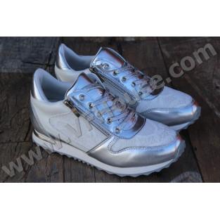 Маратонки X701 Silver