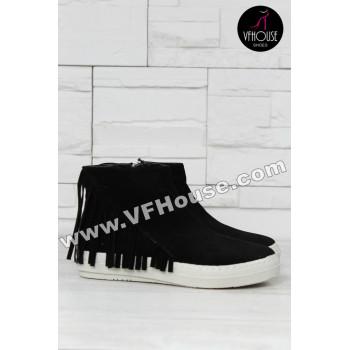 Дамски Боти 15-1210 01 Black
