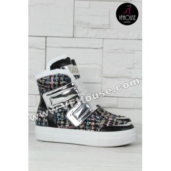 Кецове 15-S1210 04 Black-White