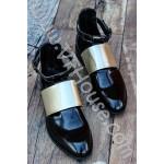 Сандали 15 0105 09 Black/Gold