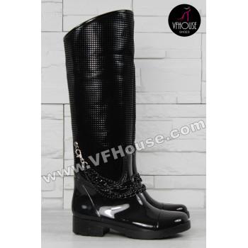 Дамски ботуши 15-EG3010 09 Black