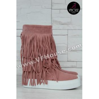 Дамски боти 15-FM1011 02 Pink