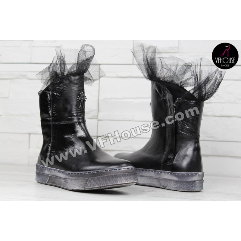 Дамски боти 15-BG2411 06 Black