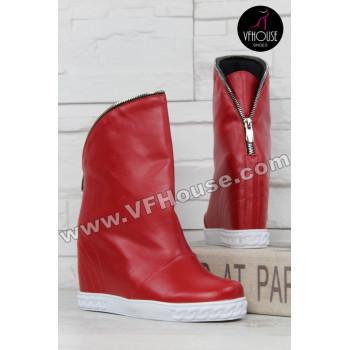 Дамски боти 15-0212 01 Red