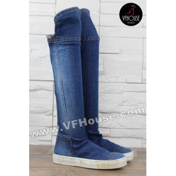 Дамски летни ботуши 16-ЕМ0302 01 Jeans