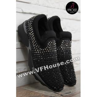 Дамски обувки 16-IT0602 609 Black