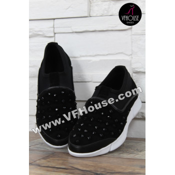 Обувки 16-CS1202 10 Black