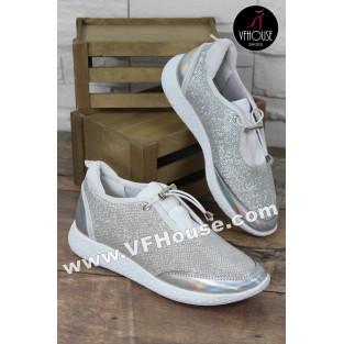 Дамски маратонки 16-CS2402 03 Gray