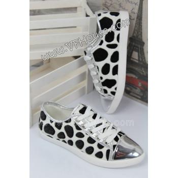 Обувки CF08-3 White/Silver
