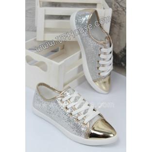 Обувки CF08-1 White/Gold