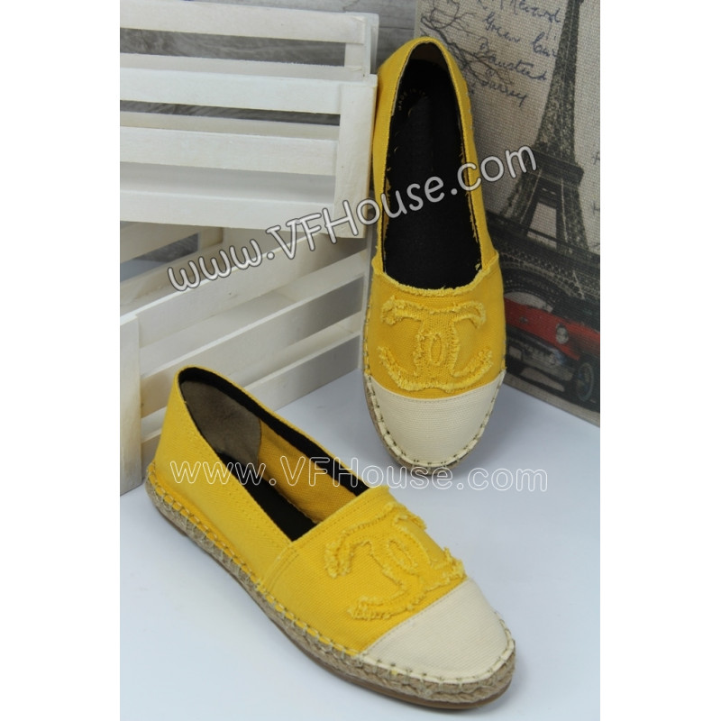 Еспадрили 15-E0807 01 Yellow