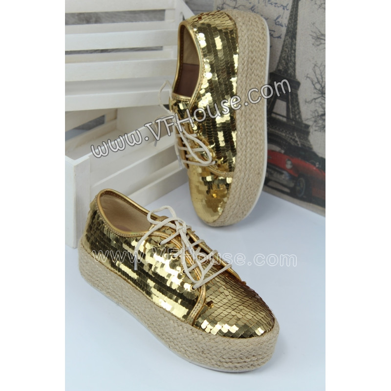 Обувки 15-W0807 03 Gold