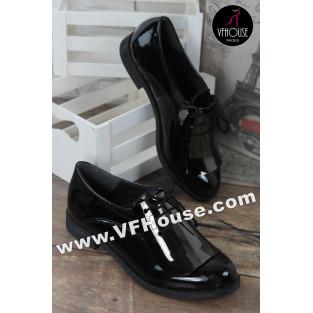 Обувки 16-FS0403 03 Black/Black