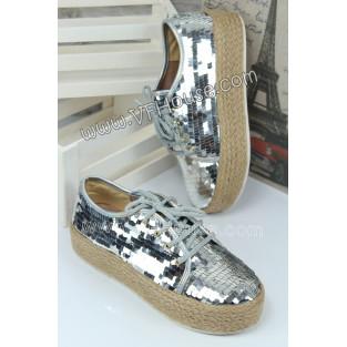Обувки 15-W0807 03 Silver