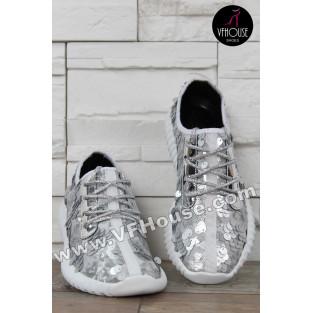 Дамски маратонки 16-SN0603 03 Gray