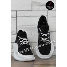 Дамски маратонки 16-SS2502 04 Black