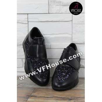 Обувки 16-CS1003 02 Black