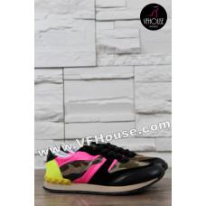 Обувки 16-MV1903 08 Black/Pink