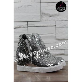 Обувки 16-SF2803 04 Silver